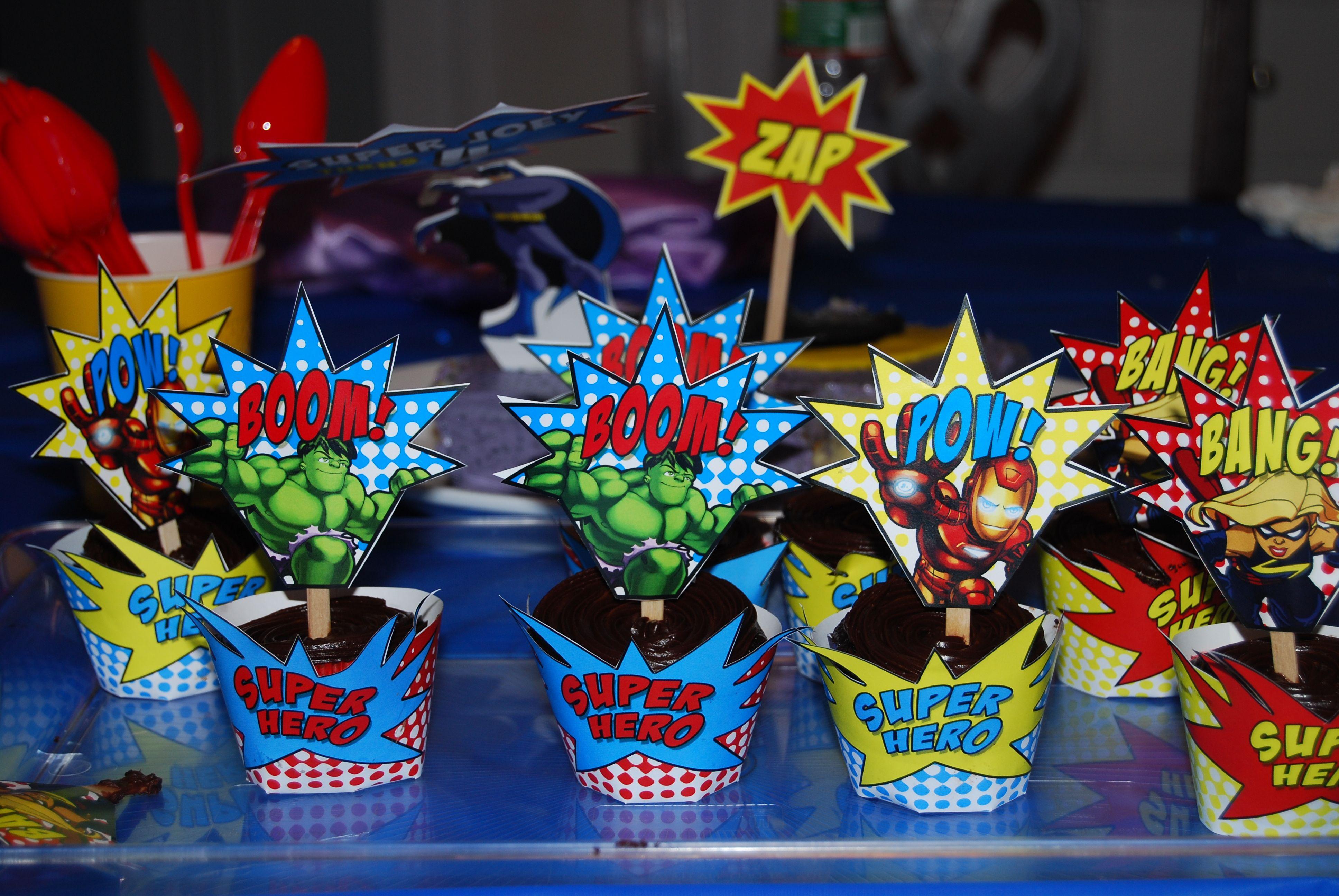 Impressive Marvel Super Hero Cupcakes 3872 x 2592 · 1045 kB · jpeg