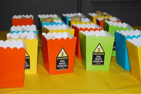 Science Birthday Party PopCorn