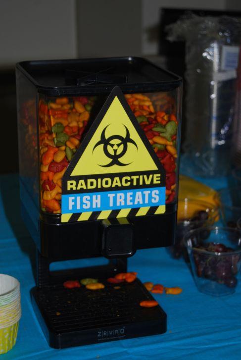 Mad Scientist Radioactive Fish