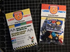 Lego Invitation